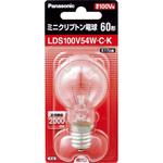 ミニクリプトン電球 E17口金 LDS100V54WCK クリア 1個