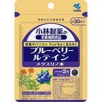 小林製薬の栄養補助食品 ブルーベリー ルテイン メグスリノ木 19.8g(330mg×60粒)