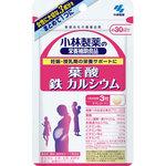 小林製薬の栄養補助食品 葉酸 鉄 カルシウム 27.9g(310mg×90粒)