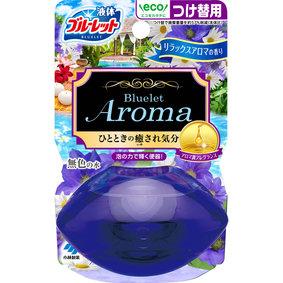 液体ブルーレットおくだけアロマ つけ替用 リラックスアロマの香り 70mL
