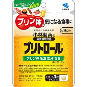 小林製薬の栄養補助食品 プリトロール 7.8g(290mg×27粒)
