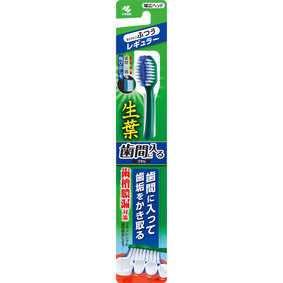 生葉歯間に入るブラシ レギュラー ふつう 1本