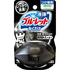 液体ブルーレットおくだけ つけ替用 心なごむ炭の香り 70mL