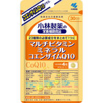 ※小林製薬の栄養補助食品 マルチビタミン ミネラル コエンザイムQ10 36g(300mg×120粒)
