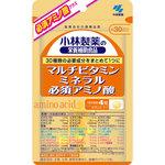 小林製薬の栄養補助食品 マルチビタミン ミネラル 必須アミノ酸 43.2g(360mg×120粒)