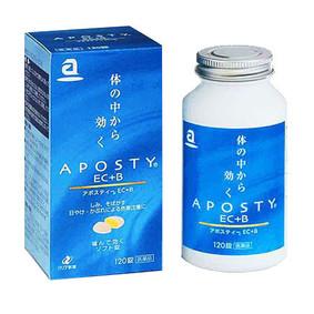 アポスティー EC+B 120錠 [第3類医薬品]