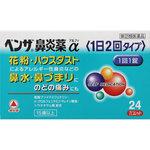 ベンザ鼻炎薬α<1日2回タイプ> 24錠 [指定第2類医薬品]
