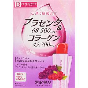 ビューパワー プラセンタ・コラーゲン<ゼリー>アサイー風味 320g(10g×32本)
