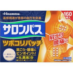 サロンパス ツボコリパッチ 160枚 [第3類医薬品]