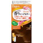 ビゲン 香りのヘアカラー 乳液 2 より明るいライトブラウン 1個