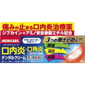 デンタルクリーム 5g [第2類医薬品]