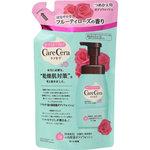 ケアセラ 泡の高保湿ボディウォッシュ フルーティローズの香り つめかえ用 350mL