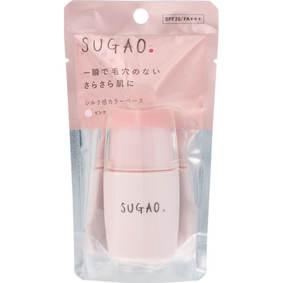 SUGAO シルク感カラーベース ピンク 20mL