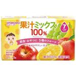 果汁ミックス100% 125mL×3本