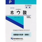 日本薬局方 ホウ酸 結晶 500g [第3類医薬品]