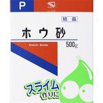 ホウ砂(結晶) P 500g