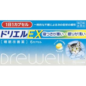 ドリエルEX 6カプセル [指定第2類医薬品]
