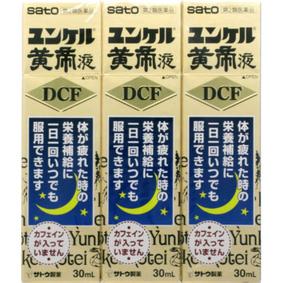 ユンケル黄帝液DCF 30mL×3本 [第2類医薬品]