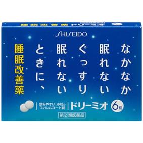 ドリーミオ 6錠 [指定第2類医薬品]