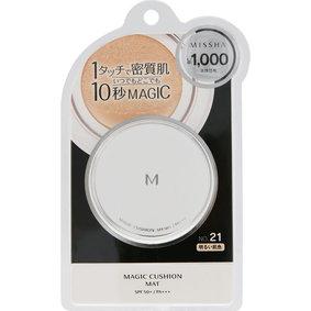 ミシャ M クッション ファンデーション(マット) NO.21 明るい肌色 15g