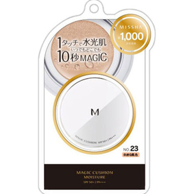 ミシャ M クッション ファンデーション(モイスチャー) NO.23 自然な肌色 15g