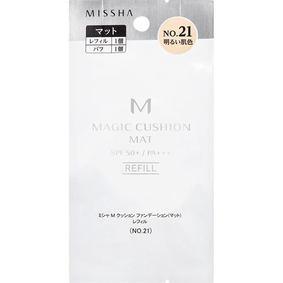 ミシャ M クッション ファンデーション(マット) レフィル No.21 明るい肌色 15g