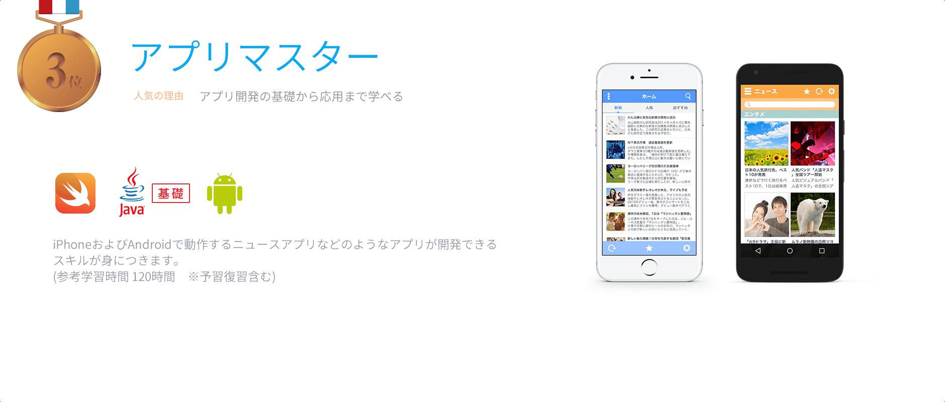 3位 アプリマスター