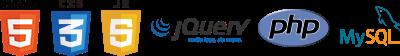 Webマスター(HTML5 / CSS3 / JavaScript / jQuery / PHP / MySQL)