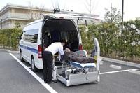 患者様の移動をサポートするお仕事です