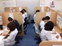 女子生徒、女性講師が多い教室です。