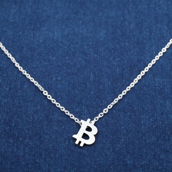 BTC Necklace M/SILVER