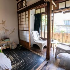 古民家で暮らす 鎌倉元ゲストハウス→古民家シェアハウス