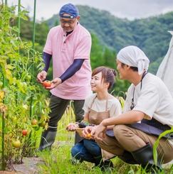 土地の広い田舎で畑を耕しながら暮らすファミリーOKのシェアハウス みんなで子育て