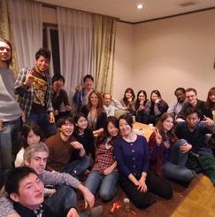 国際交流したい人だけが集まるシェアハウス、梅田からも10分の閑静な住宅街に建つ一軒家