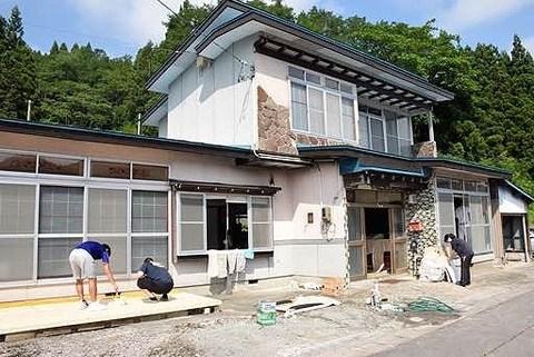 2/14 NHKおはよう日本で、西目屋村 移住促進シェアハウスが紹介されます。