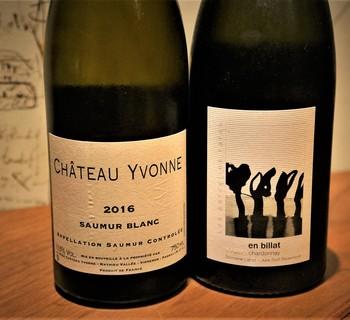 Chateau Yvonne / Saumur Blanc 2016   Julien Labet / Chardonnay En Billat 2014