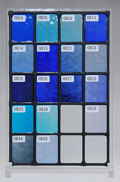 ステンドグラスに使えるカラー(1)