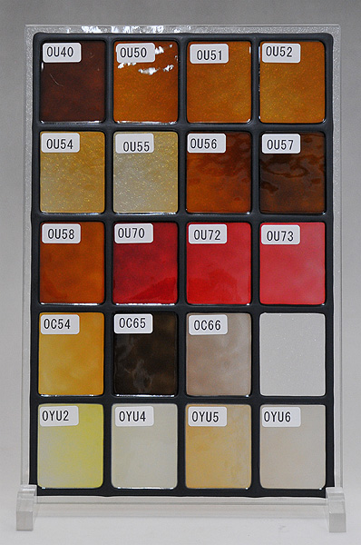 ステンドグラスに使えるカラー(2)