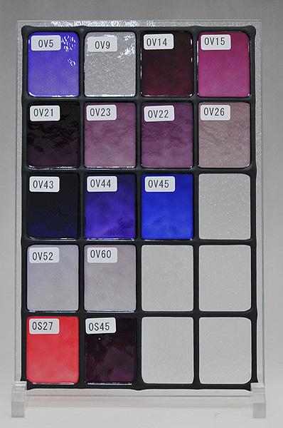 ステンドグラスに使えるカラー(5)