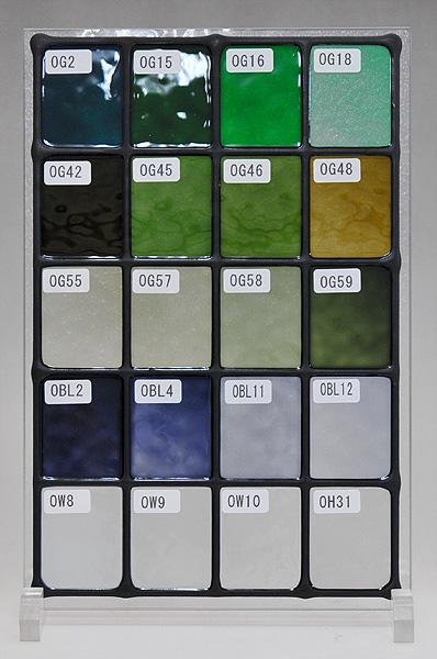 ステンドグラスに使えるカラー(7)