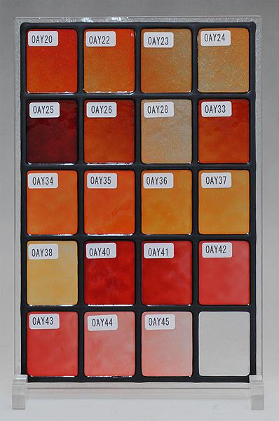 ステンドグラスに使えるカラー(8)