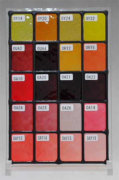 ステンドグラスに使えるカラー(9)