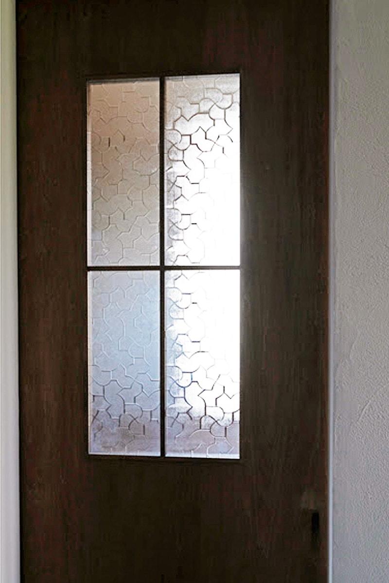 ドア窓を使用した「からたち」(1)