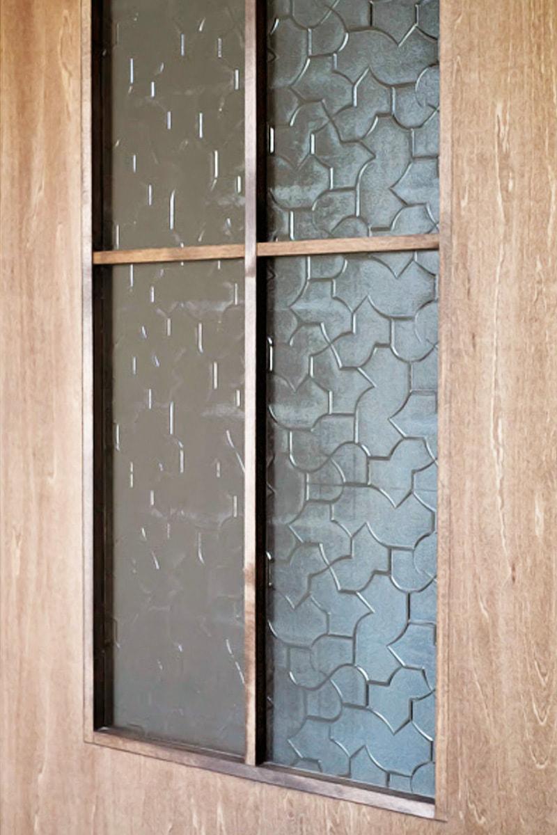 ドア窓を使用した「からたち」(2)
