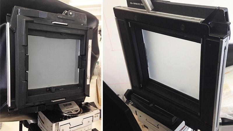 カメラの「ピントグラス」に「すりガラス(2mm)」を使用したS様の事例のお写真