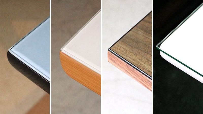 テーブル色別!テーブルトップガラス9種類の見え方の違いを比較