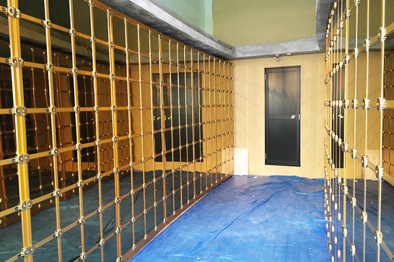 納骨壇のガラス扉に設置した「強化ガラス(5mm)」(1)