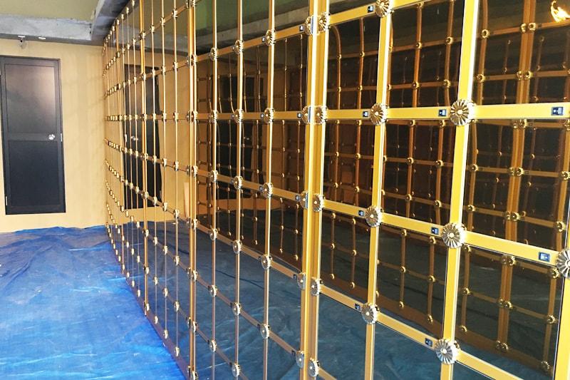 納骨壇のガラス扉に設置した「強化ガラス(5mm)」(2)