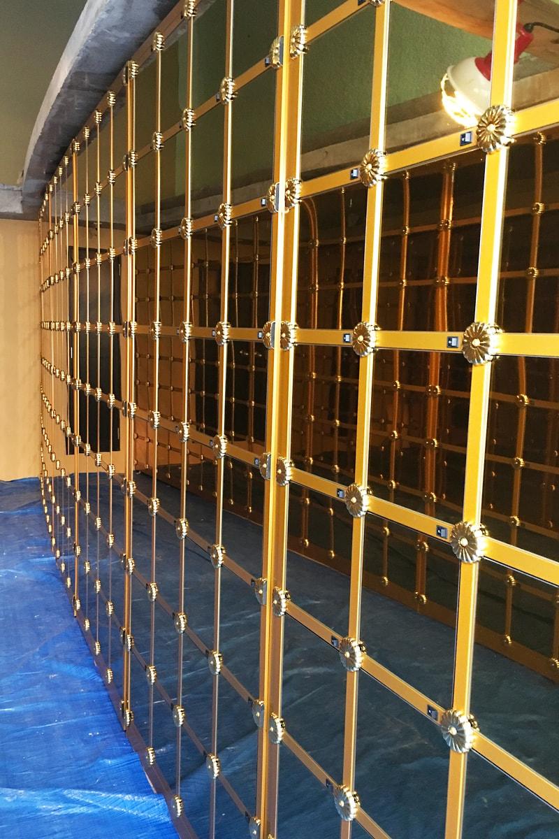 納骨壇のガラス扉に設置した「強化ガラス(5mm)」-(1)