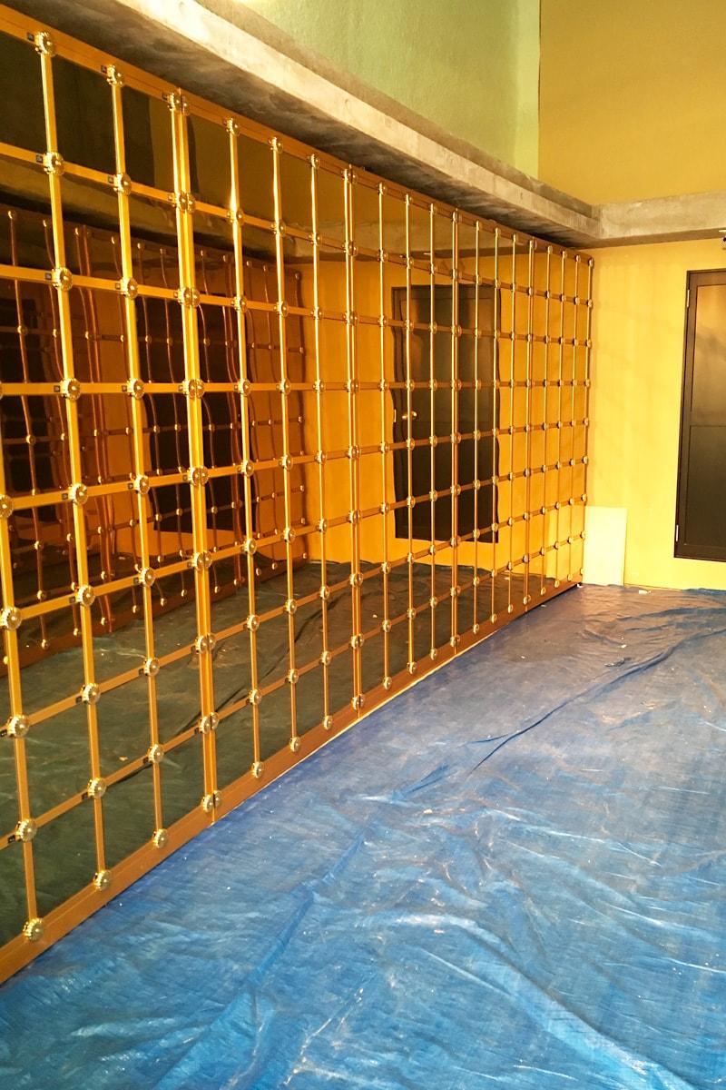 納骨壇のガラス扉に設置した「強化ガラス(5mm)」-(2)